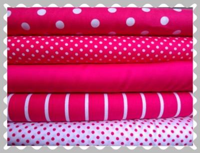 """Baumwolle """"Pink verschieden Muster"""""""