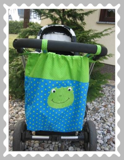 """Kinderwagentasche """"Frosch"""""""