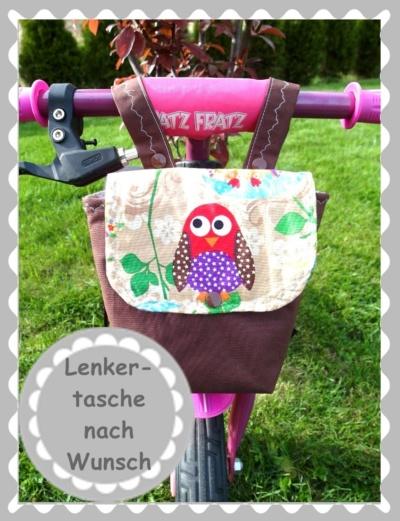 """Lenkertasche / Utensilo """"nach Wunsch"""""""