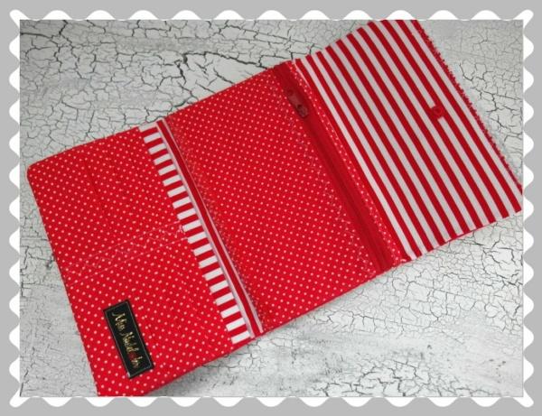 """Portemonnaie """"Rot mit weißen Pünktchen"""""""