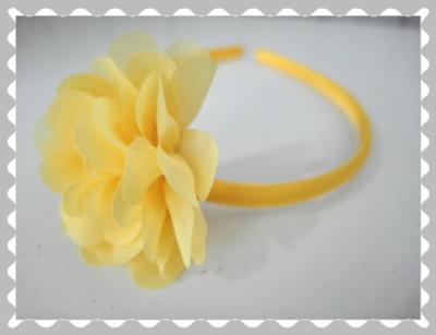 """Haarreifen """"Gelb"""""""