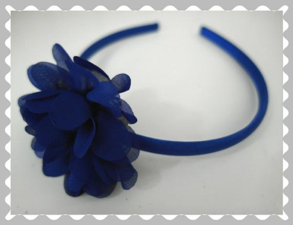 """Haarreifen """"Royalblau"""""""