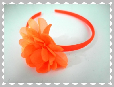 "Haarreifen ""Orange"""