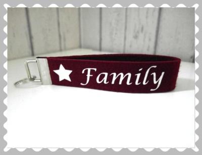 """Schlüsselanhänger """"Family"""""""