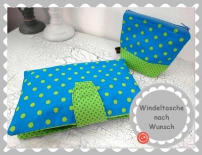 Windel /-Wickeltasche nach Wunsch