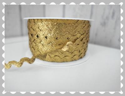 """Zackenlitze """"Gold"""""""